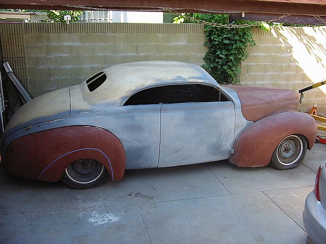 1939 Mercury Chopped Top Coupe for sale