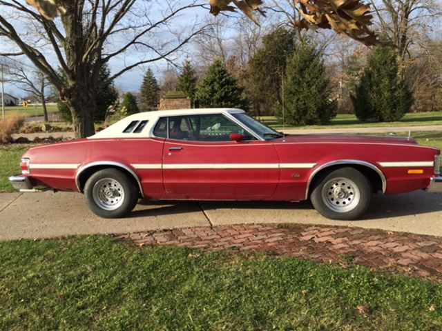 1975 ford gran torino for sale east peoria illinois. Black Bedroom Furniture Sets. Home Design Ideas