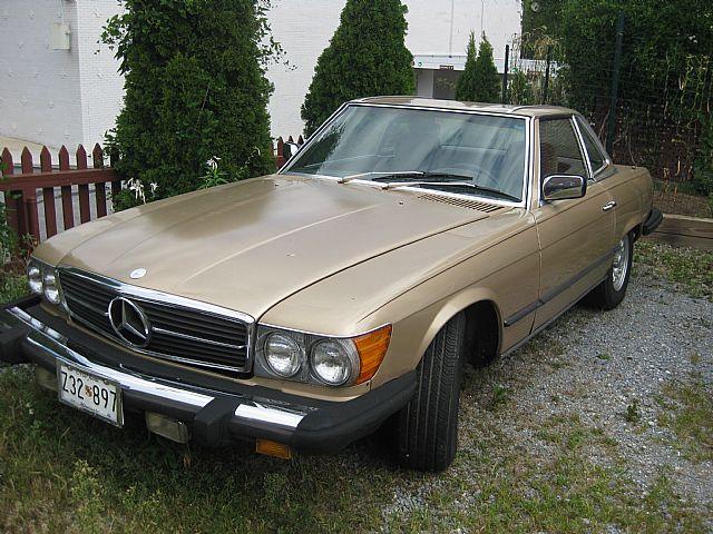 1981 mercedes 380sl for sale westminster maryland for 1981 mercedes benz 380sl