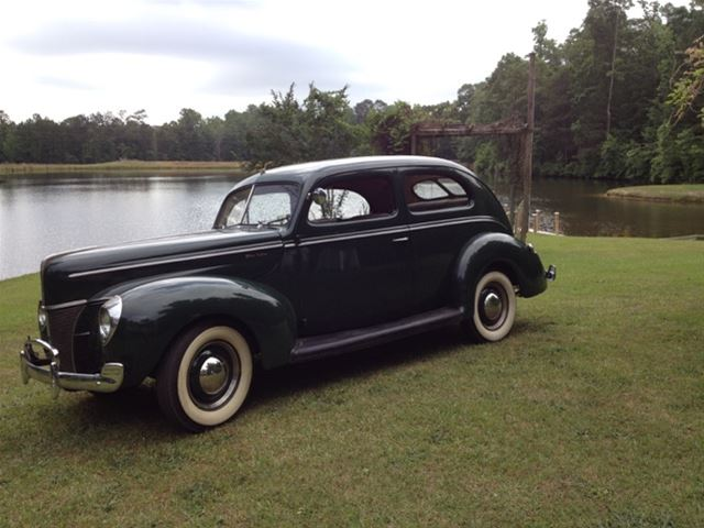 1940 Ford 2 Door Sedan for sale