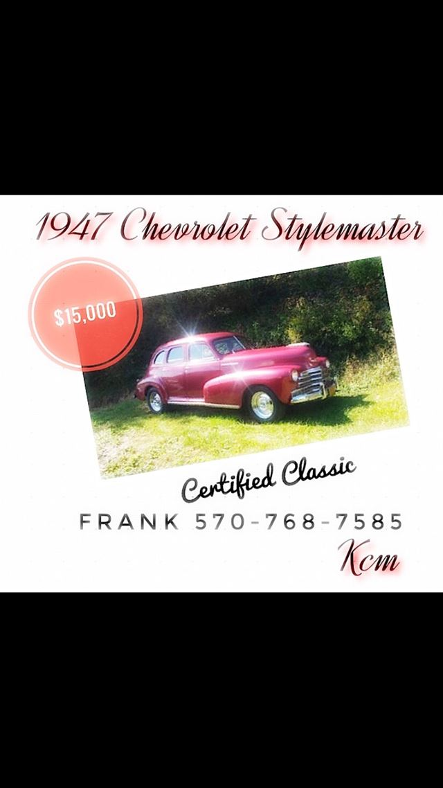 1947 Chevrolet Stylemaster for sale