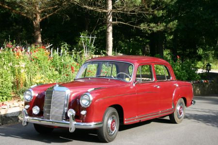 1958 Mercedes 220S for sale