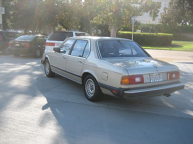 1984 BMW 733i for sale