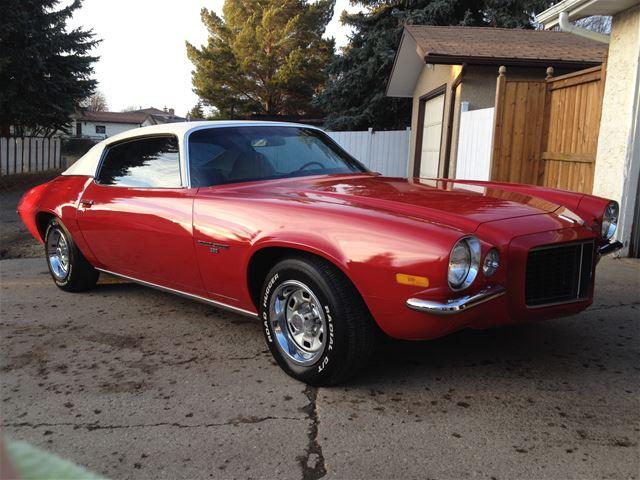 1972 Chevrolet Camaro For Sale Wetaskiwin Alberta