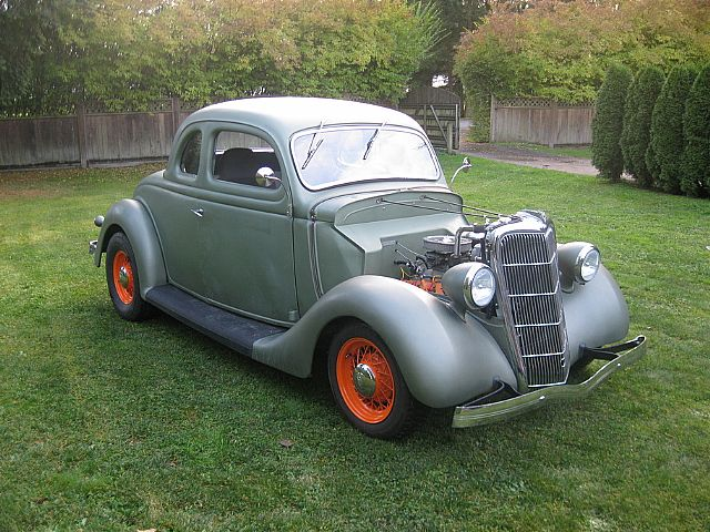 1935 Ford 5 Window Coupe for sale