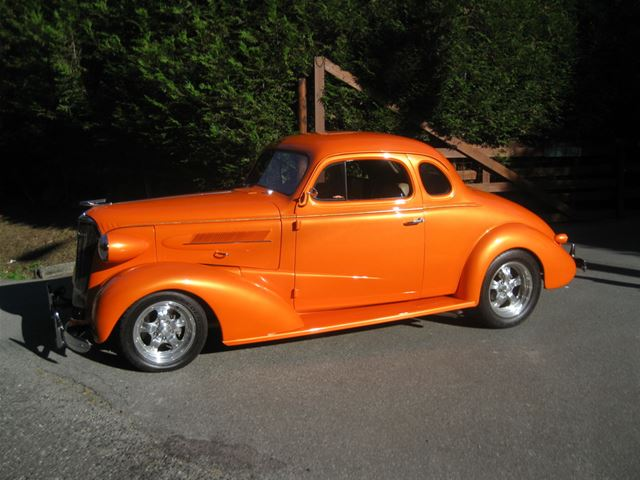 1937 Chevrolet 5 Window Coupe
