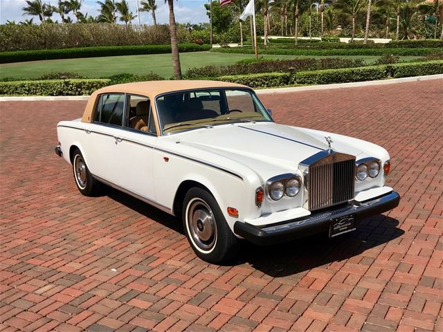 1980 rolls royce silver wraith ii for sale delray beach. Black Bedroom Furniture Sets. Home Design Ideas