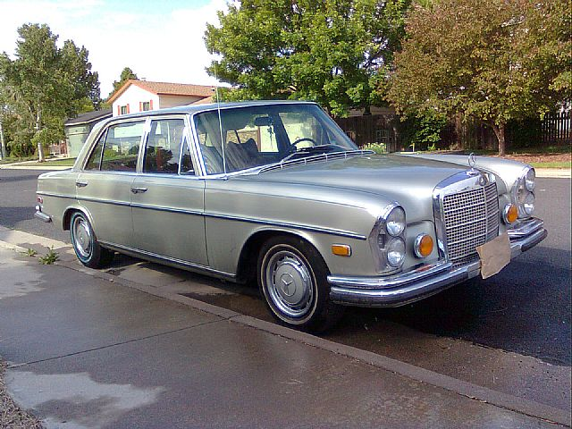 1972 Mercedes 280SEL for sale
