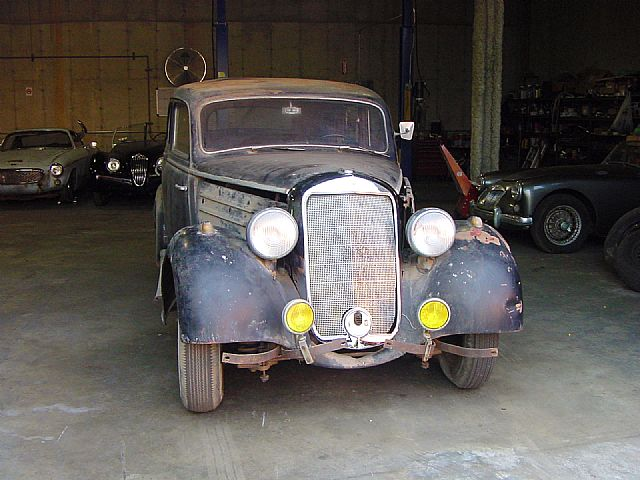 1949 Mercedes 170S for sale