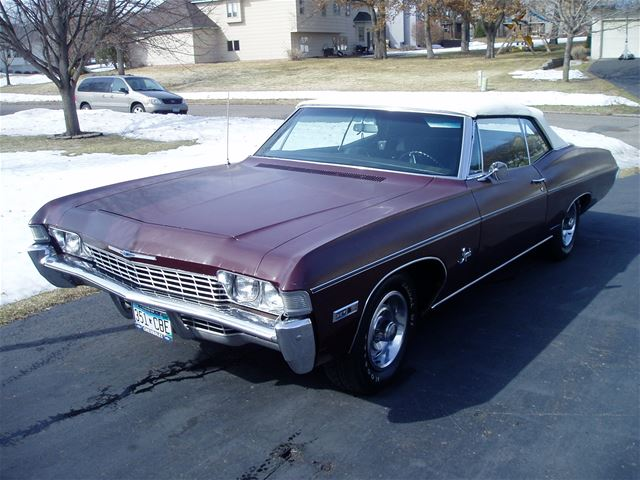 1968 chevrolet impala for sale ramsey minnesota. Black Bedroom Furniture Sets. Home Design Ideas