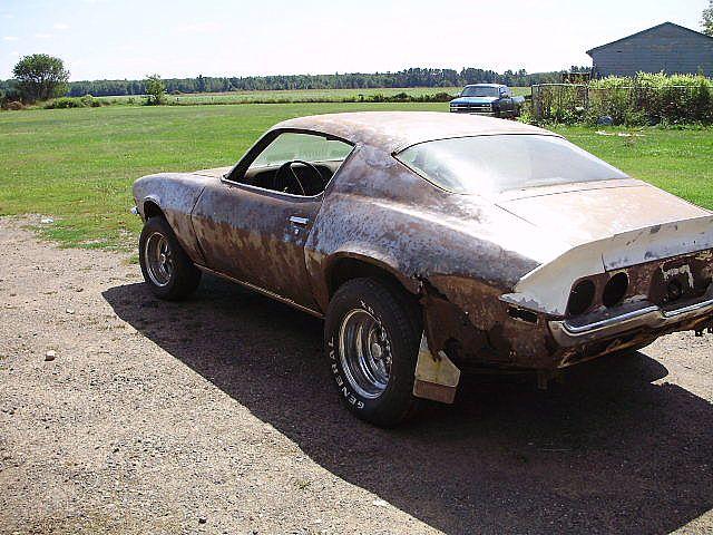 1971 Chevrolet Camaro For Sale Stone Lake Wisconsin