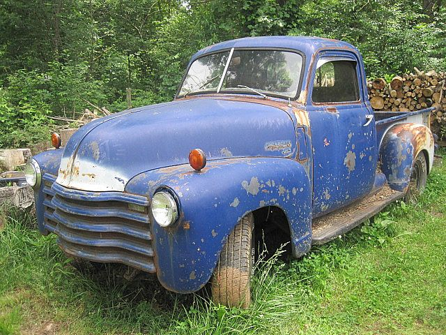 1950 chevy truck project for sale