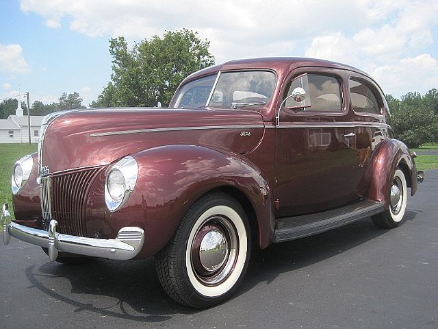 1940 Ford 2 Door for sale