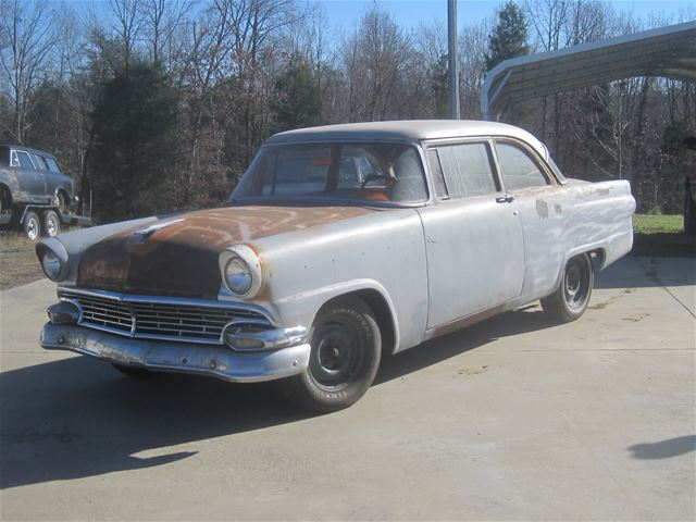 1956 ford customline for sale mocksville north carolina for 1956 ford customline 2 door hardtop