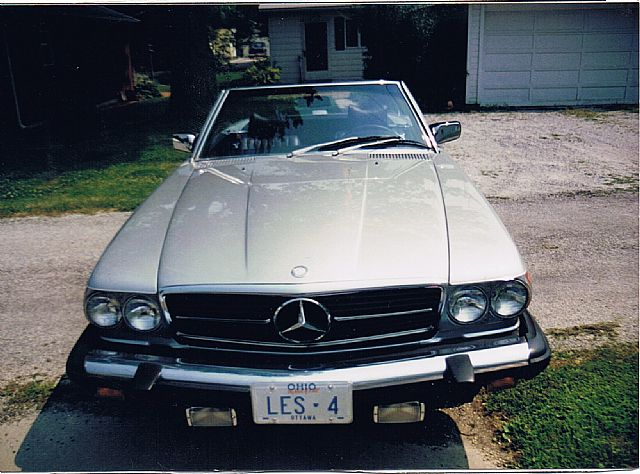 1976 Mercedes 450SL for sale