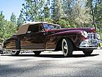 1947 Lincoln Convertible