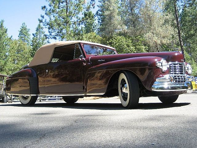 1947 Lincoln Convertible for sale