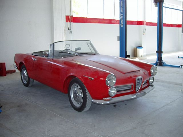 1962 Alfa Romeo 2600 for sale