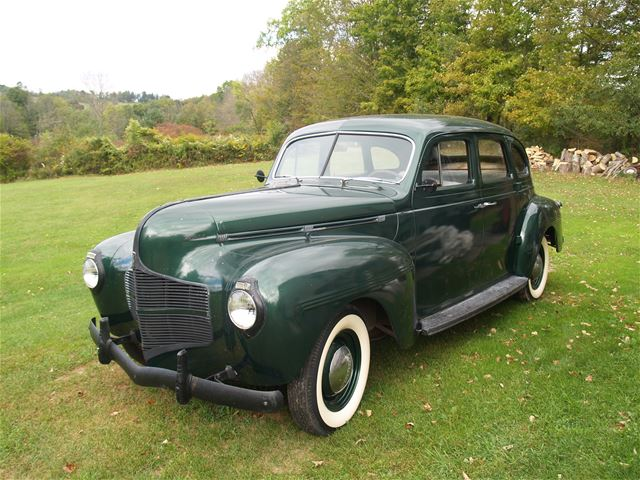 1940 dodge 4 door sedan for sale factoryville pennsylvania for 1940 dodge 4 door sedan