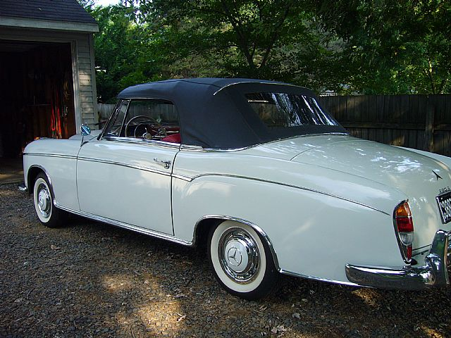 1959 Mercedes 220S for sale