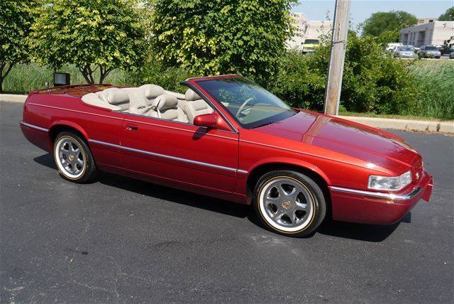 1998 cadillac eldorado convertible for sale alsip illinois. Black Bedroom Furniture Sets. Home Design Ideas