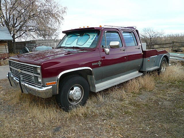 1984 Chevrolet One Ton Dually For Sale Blackfoot, Idaho
