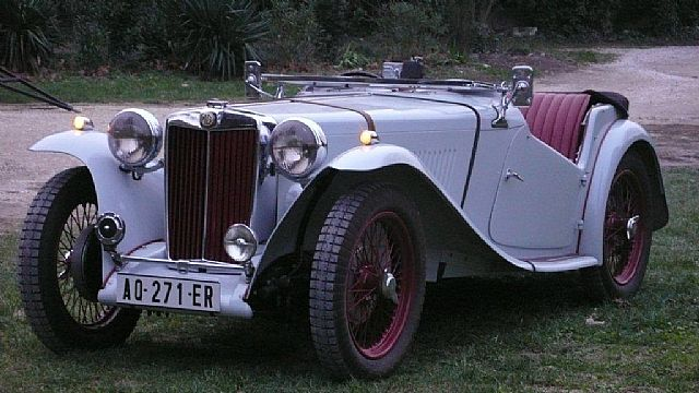 1949 MG TC for sale