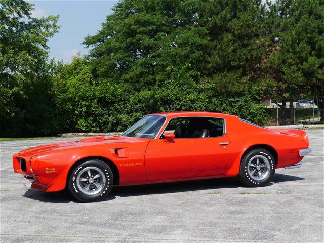 1973 Pontiac Firebird Trans Am For Sale: 1973 Pontiac Trans Am For Sale Alsip, Illinois