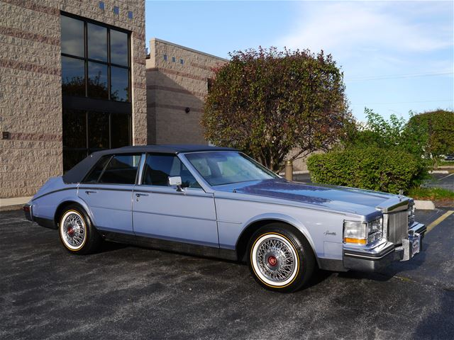 1984 Cadillac Seville For Sale Alsip Illinois