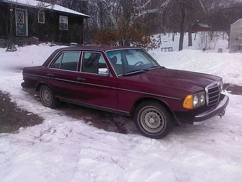1977 Mercedes 300D for sale