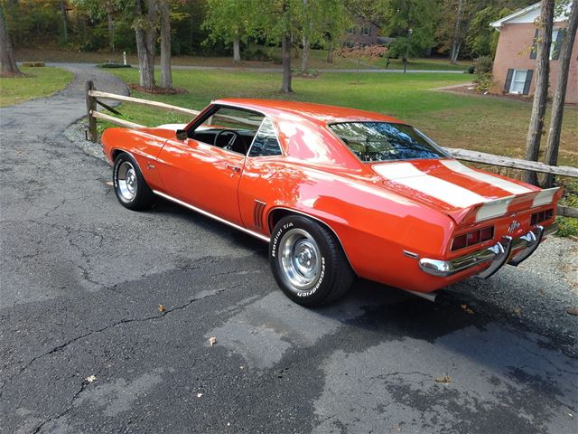 1969 chevrolet camaro for sale south boston virginia. Black Bedroom Furniture Sets. Home Design Ideas