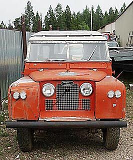 1959 Land Rover Series II for sale