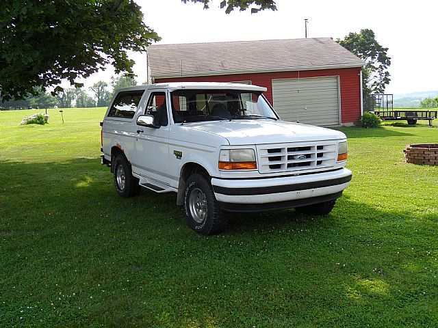 1995 Ford Bronco for sale
