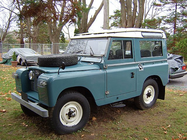1962 Land Rover Series 2a for sale