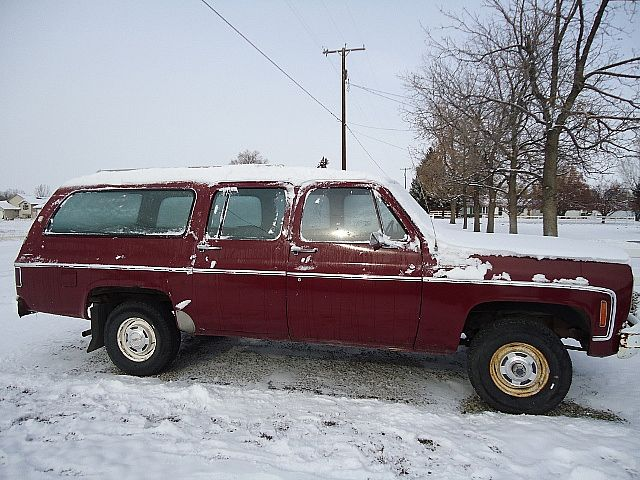1975 Chevrolet Suburban for sale