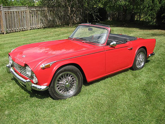 1966 Triumph TR4 for sale