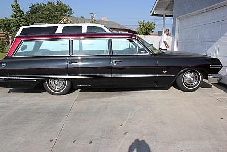 1963 chevrolet impala wagon for sale garden grove california. Black Bedroom Furniture Sets. Home Design Ideas