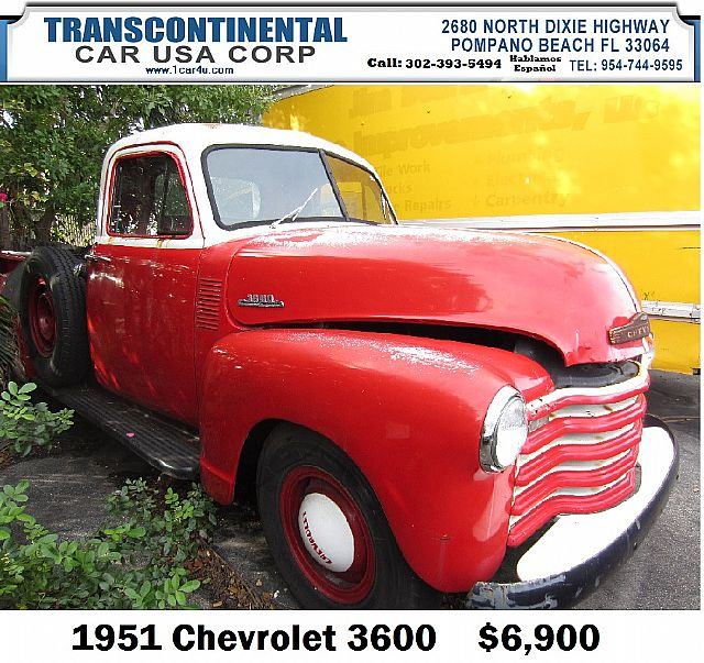 1951 Chevrolet 3600 for sale