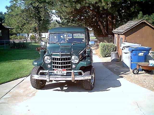 1953 Willys Overland Wagon for sale