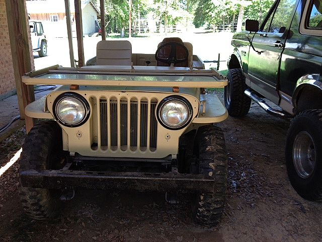 1950 Willys CJ3 for sale