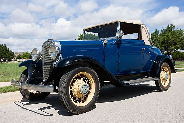 1931 Chevrolet Cabriolet for sale