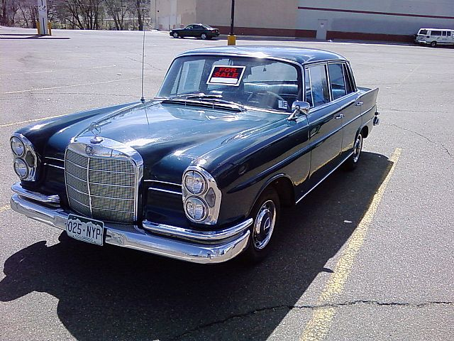 1962 Mercedes 220S for sale