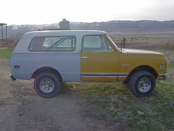 1972 Chevrolet K5 for sale