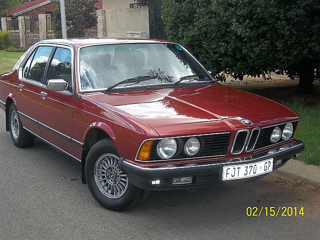 1982 Bmw 733i For Sale Johannesburg South Africa