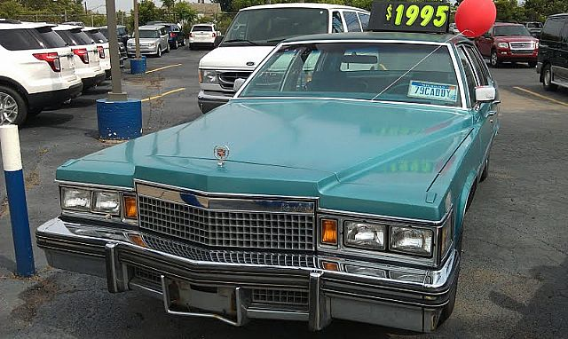 1979 Cadillac DeVille Sedan For Sale Detroit, Michigan