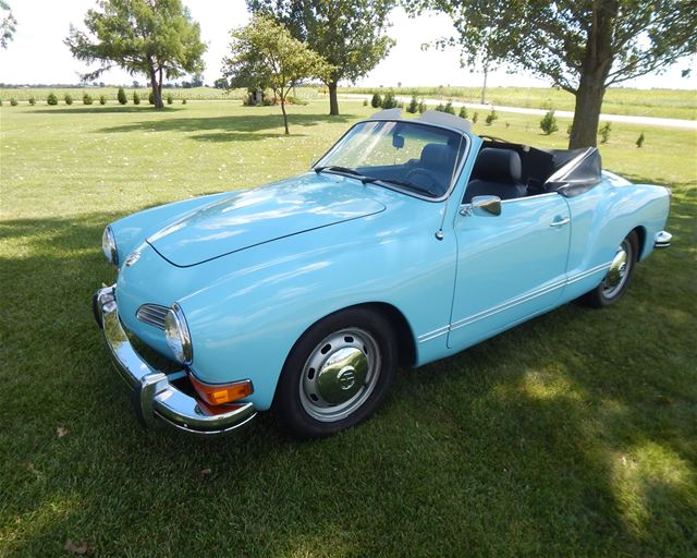 1973 Volkswagen Karmann Ghia for sale