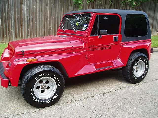 1991 Jeep Renegade for sale