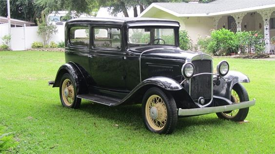 1931 Chevrolet 2 Door Coupe