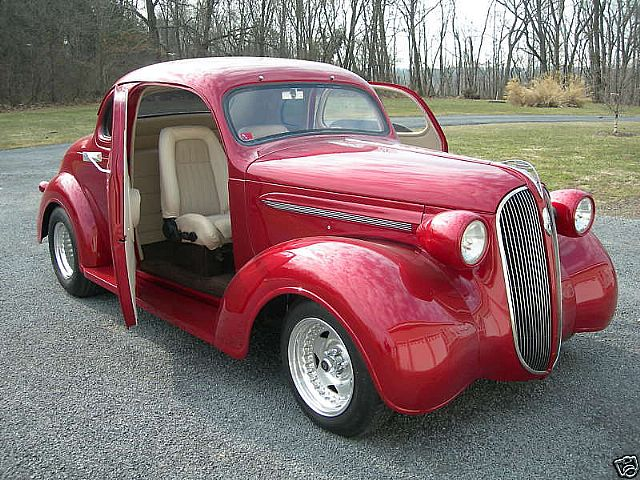 1937 Plymouth 5 Window Coupe for sale