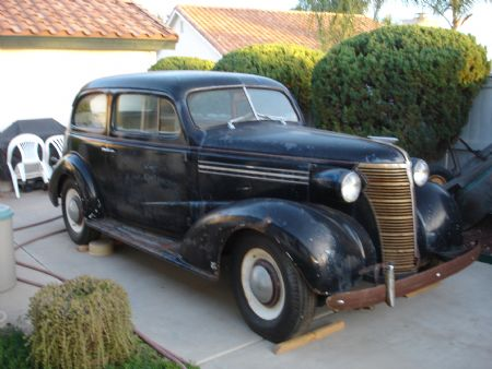 1938 Chevrolet Master Deluxe Sedan For Sale SUN CITY ...